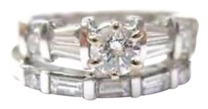 Other Fine 18Kt Two Ring Diamond Wedding Set 1.12CT