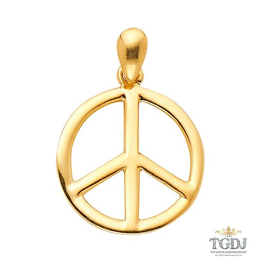 Preload https://img-static.tradesy.com/item/21122621/yellow-peace-sign-cz-pendant-14k-charm-0-0-540-540.jpg