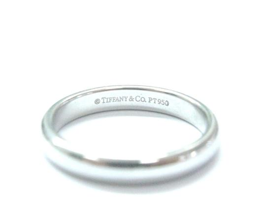 Tiffany & Co. Tiffany & Co Lucida Platinum Wedding Band Ring Size 5.25 3mm
