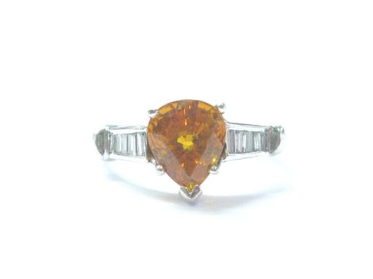 Preload https://img-static.tradesy.com/item/21122683/yelloworange-fine-gem-sapphire-diamond-white-gold-410ct-ring-0-0-540-540.jpg