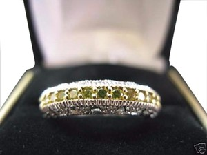 Other Fine Deco Multi Diamond White Gold Ring 14KT