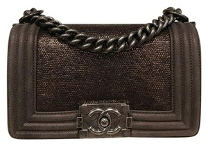 Chanel Le Lizard Chain Exclusive Cross Body Bag