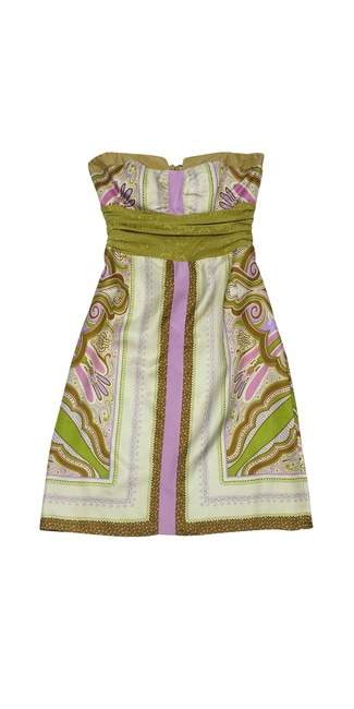 Preload https://img-static.tradesy.com/item/21122851/nicole-miller-multicolor-olive-brown-and-lilac-print-strapless-short-casual-dress-size-8-m-0-0-650-650.jpg