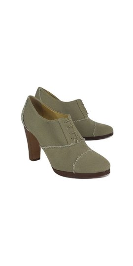 J.Crew Canvas Shoeties Taupe Boots