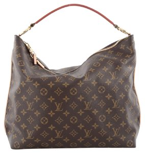 Louis Vuitton Canvas Sully Shoulder Bag