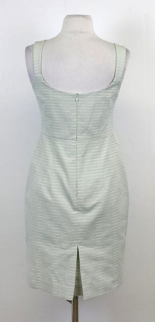 Nanette Lepore short dress Light Blue Textured Pleat on Tradesy