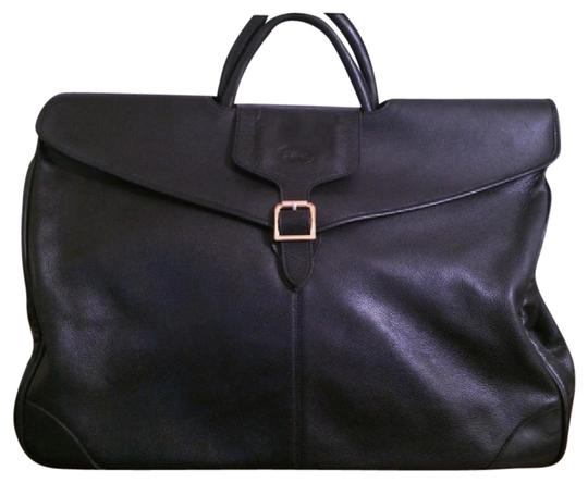 Preload https://img-static.tradesy.com/item/21123299/longchamp-rare-huge-black-leather-weekendtravel-bag-0-1-540-540.jpg
