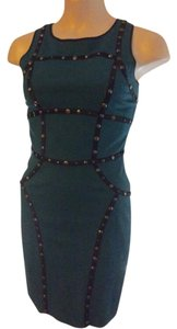 Cynthia Steffe Studded Bodycon Dress