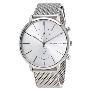 Michael Kors Michael Kors Jaryn Silver Dial Men's Stainless Steel Mesh Watch MK8541