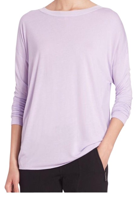 Preload https://img-static.tradesy.com/item/21123386/vince-lilac-long-sleeve-tee-shirt-size-6-s-0-3-650-650.jpg