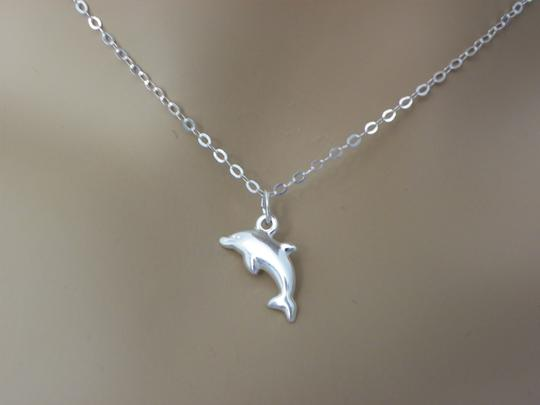 Other Dolphin necklace in sterling silver, Dolphin necklace, Dolphin jewelry