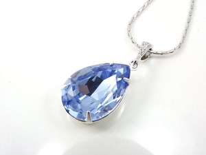 Light Sapphire Swarovski Crystal Necklace