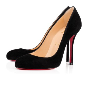 Christian Louboutin Fifetish Suede New black Pumps