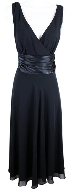 Preload https://img-static.tradesy.com/item/21123795/scarlett-black-v-neck-mid-length-cocktail-dress-size-10-m-0-1-650-650.jpg