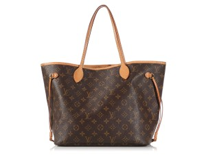 Louis Vuitton Lv.l0324.15 Brown Canvas Leather Ghw Tote