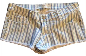 Abercrombie & Fitch Cut Off Shorts Striped