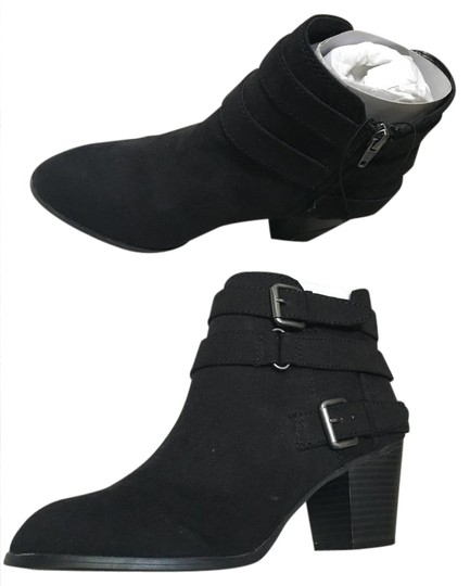 Preload https://img-static.tradesy.com/item/21124010/express-black-trendy-buckle-ankle-bootsbooties-size-us-8-0-1-540-540.jpg