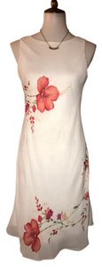 Alyn Paige short dress White Multi Colored Floral Printed Nwot Free Shipping Size 8 Sleeveless on Tradesy