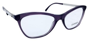 Chanel Chanel Cat Eye Square Gradient Violet Eyeglasses 3330-H c.1547 53