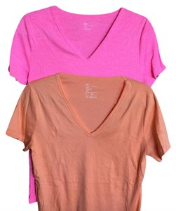 Gap T Shirt pink and orange