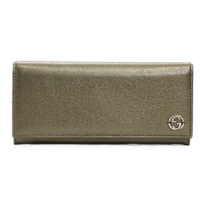 Gucci Gucci Women's Saffiano Leather Continental Flap Wallet 256348
