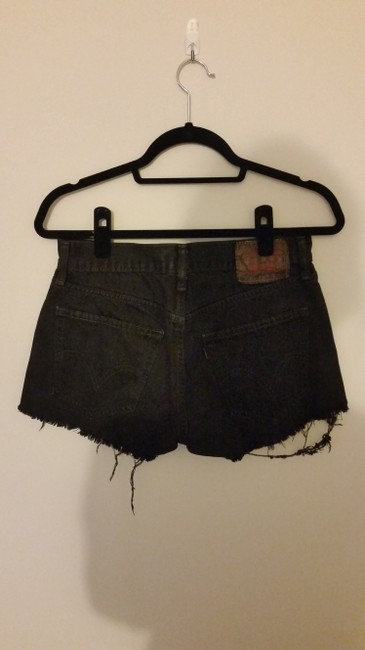 Levi's Vintage Denim Cut Off Shorts black