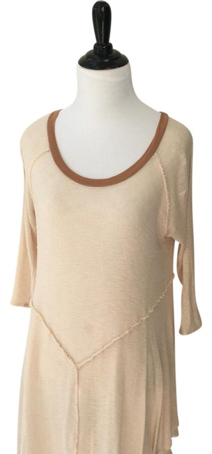 Preload https://img-static.tradesy.com/item/21124252/free-people-cream-and-brown-intimately-blouse-size-12-l-0-1-650-650.jpg