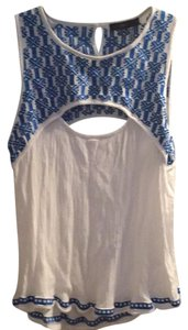 Other Top blue /white