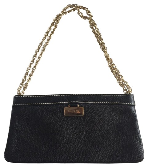 Preload https://img-static.tradesy.com/item/21124318/kate-spade-q064-black-leather-shoulder-bag-0-1-540-540.jpg