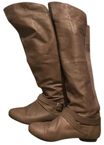 Chinese Laundry Grey/Taupe Boots