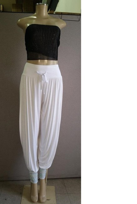 India Boutique Summer Of Love Baggy Pants White