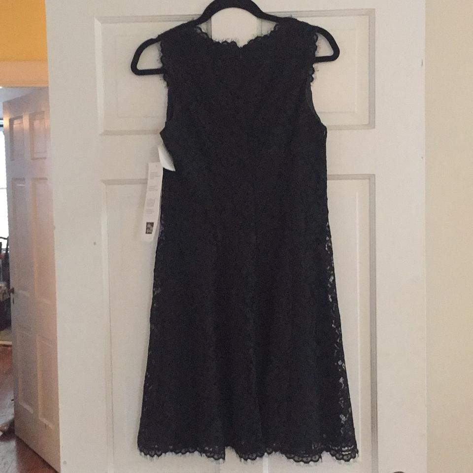 Shoshanna Black Lace Sierra Style No 7579881 Mid Length Cocktail Dress Size 6 S 82 Off Retail