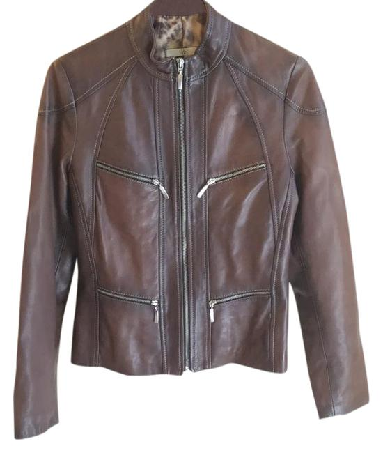 Preload https://img-static.tradesy.com/item/21124532/vera-pelle-brown-leather-jacket-size-8-m-0-1-650-650.jpg