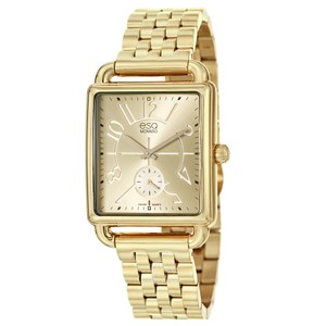 ESQ ESQ by MOVADO Origin Gold Tone Stainless Steel Watch 07101408