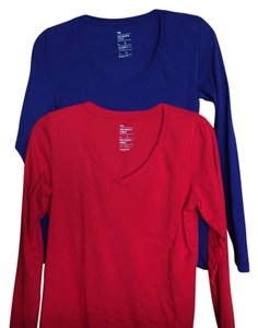 Gap T Shirt bright blue and red