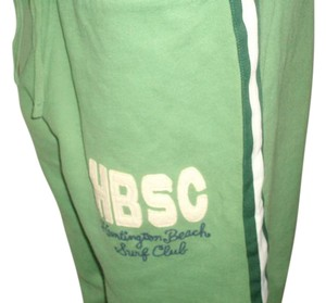 Hollister Athletic Pants Green