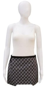 Maje Mini Knit Asymmetrical Skirt