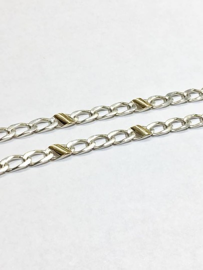 Tiffany & Co. BEAUTIFUL Cuban Mariner Chain Link Necklace 18k Yellow Gold!!