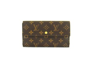 Louis Vuitton International Monogram Canvas Leather Long Clutch Wallet