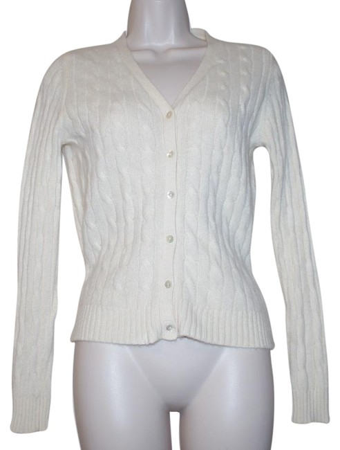 Preload https://img-static.tradesy.com/item/21124899/lord-and-taylor-2-ply-cashmere-ivory-off-white-button-cardigan-size-petite-4-s-0-1-650-650.jpg
