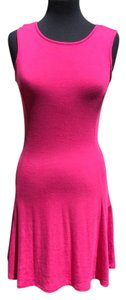Donna Ricco short dress pink on Tradesy