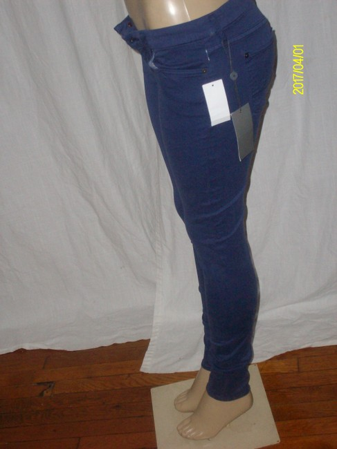 7 For All Mankind Skinny Pants Purple