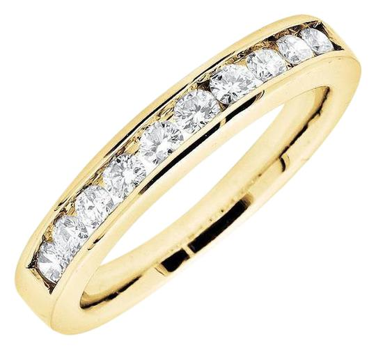 Preload https://img-static.tradesy.com/item/21125067/14k-yellow-gold-one-row-channel-real-diamond-engagement-wedding-band-050ct-ring-0-1-540-540.jpg