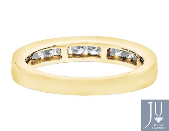 Other One Row Channel Real Diamond Engagement Wedding Ring Band 0.50ct