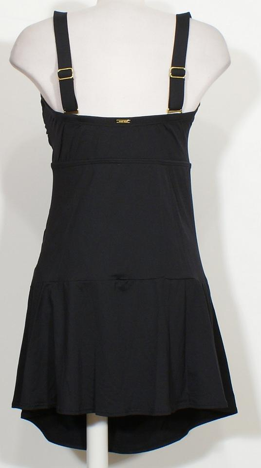 f54d4efc34 Anne Cole Twist Front Skirted Strapless Swimdress Swimsuit 24W Image 2.  123. 1 ∕ 3