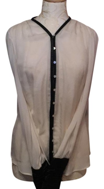 Preload https://img-static.tradesy.com/item/21125145/elizabeth-and-james-with-button-front-and-leather-accents-blouse-size-4-s-0-1-650-650.jpg