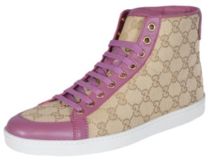 Gucci Sneakers Sneakers High Top Sand/Pink Athletic