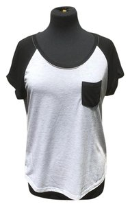 Zine Clothing Top black and white