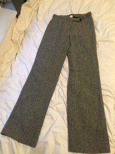 J.Crew Tweed Trousers Wide Leg Pants Black and White
