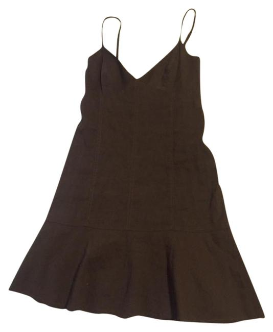 Preload https://img-static.tradesy.com/item/21125556/theory-brown-linen-roper-short-casual-dress-size-2-xs-0-1-650-650.jpg